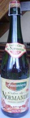 Cidre de Normandie, Doux (2 % vol.) [Lot de 3 bouteilles : code barre 3250391816712] - Product - fr