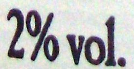 Cidre de Normandie, Doux (2 % vol.) [Lot de 3 bouteilles : code barre 3250391816712] - Nutrition facts - fr