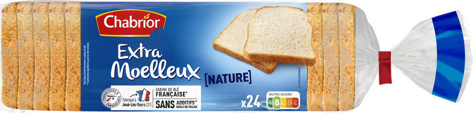 Pain de mie nature extra moelleux - Product - fr