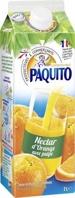 Nectar d'orange avec pulpe - Prodotto - fr