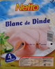 Blanc de Dinde - 4 Tranches - Product