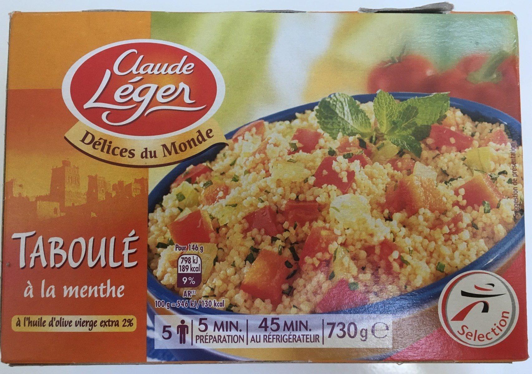 Taboulé menthe & huile d'olive - Product - fr