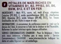 Corn Flakes - Ingrédients - fr