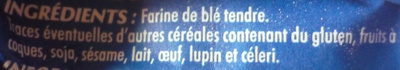 Farine fluide anti-grumeaux - Ingrédients - fr