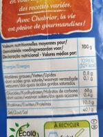 Farine fluide anti-grumeaux - Informations nutritionnelles - fr