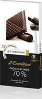 L'envoûtant chocolat noir 70% - Product - fr