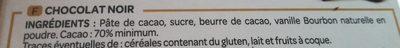 L'envoutant - Ingrédients - fr