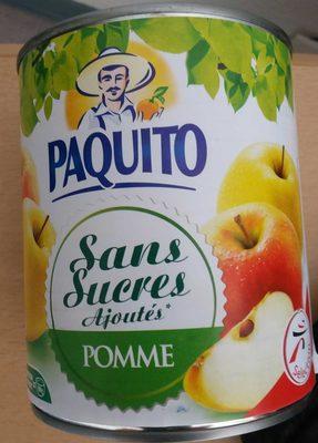 Sans sucres ajoutés Pomme - Produit