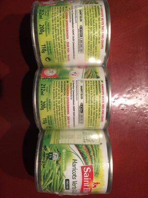 Haricots verts très fins coupés - Product