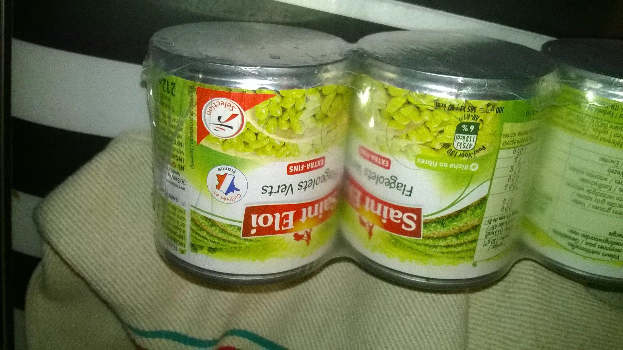 Flageolets verts extra fins, - Produit - fr