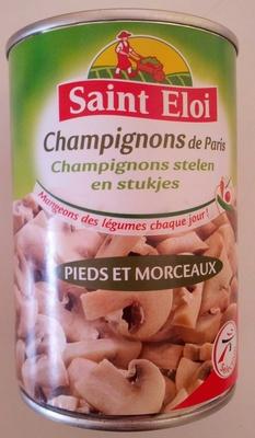 Champignons de Paris - Pieds et Morceaux - Produit