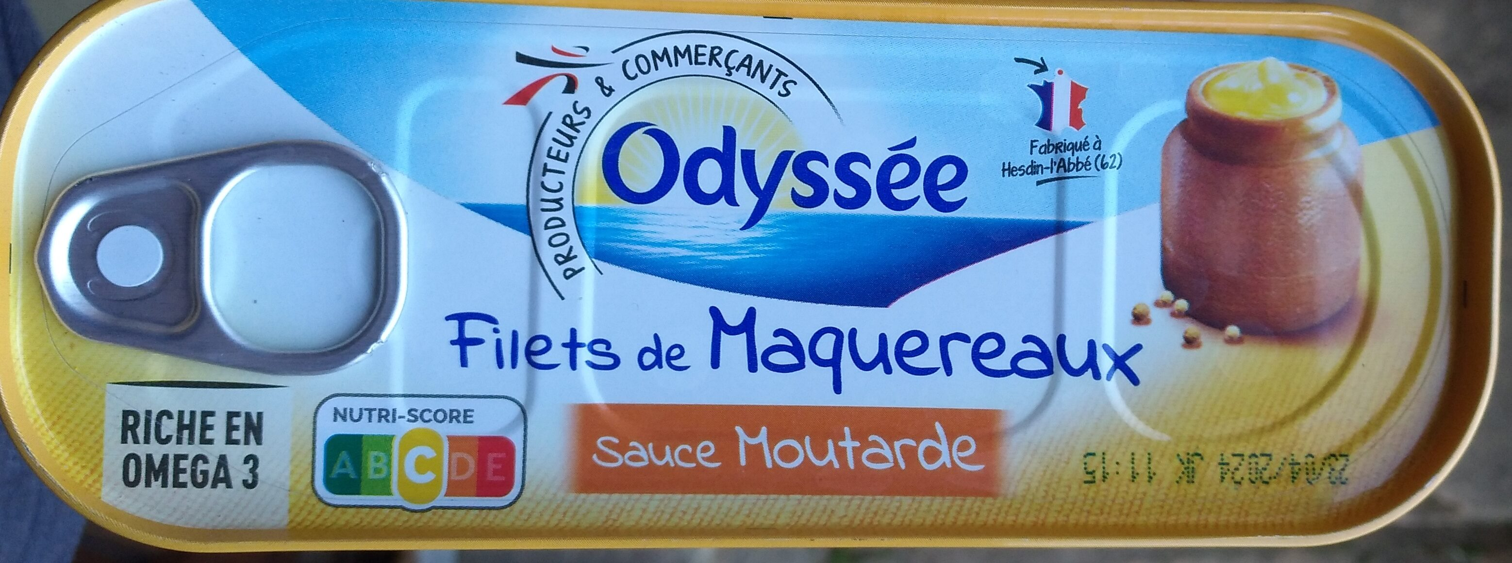 Filets de maquereaux sauce moutarde - Product - fr