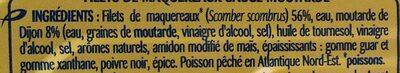 Filets de maquereaux sauce moutarde - Ingredienti - fr