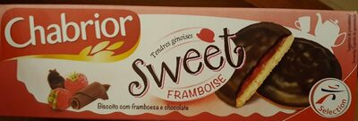Biscuits Sweet framboise - Nutrition facts - fr