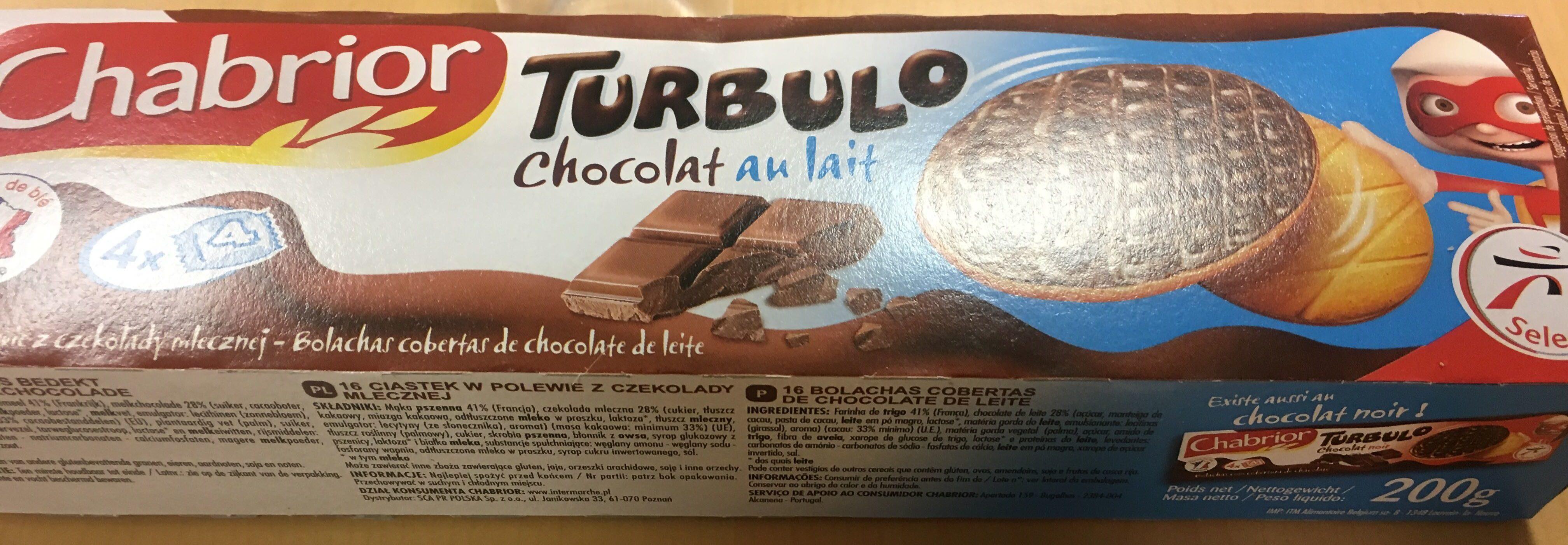 Chabrior Turbulo Chocolat au lait - Product - fr