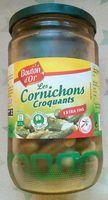 Cornichons Croquants extra-fins - Produit
