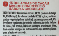 Goûter Crok parfum tout chocolat - Ingredients