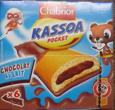 Kassoa pocket chocolat au lait - Product