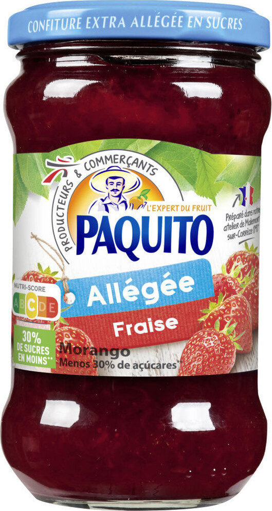 Confiture allégée fraise - Product - fr