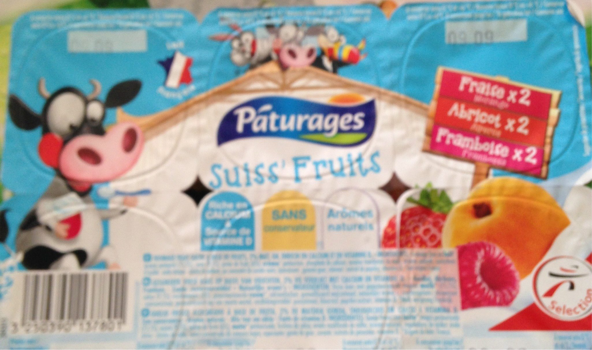 Suiss'Fruits - Product