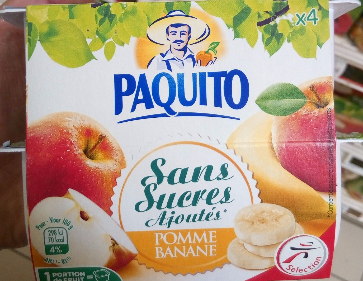 Paquito Pom Banan SSUCRE4 - Product