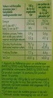 Riz long grain - 10 minutes - Informations nutritionnelles - fr