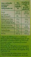 Riz long grain - 10 minutes - Voedingswaarden - nl