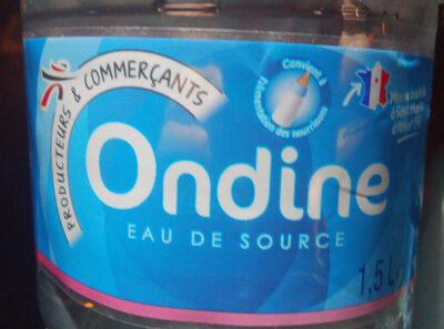 Ondine eau de source - Product - fr