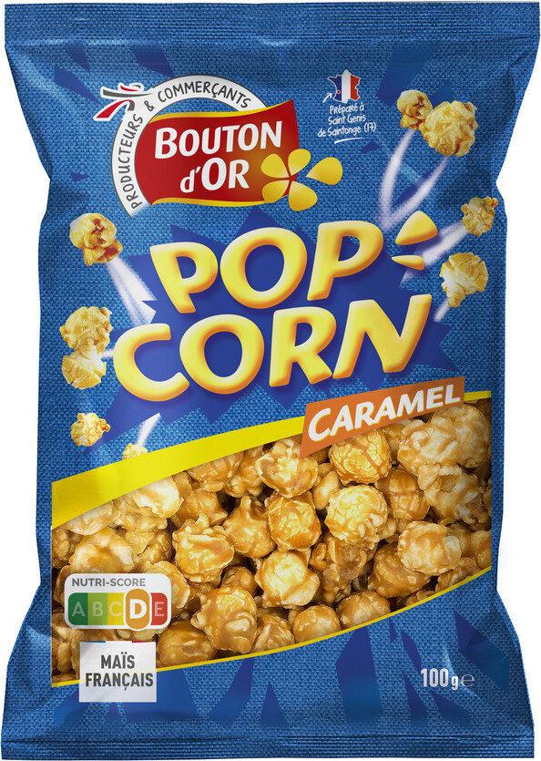Pop corn caramel - Produit - fr