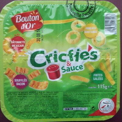 Cricfie's & sauce - Produit - fr