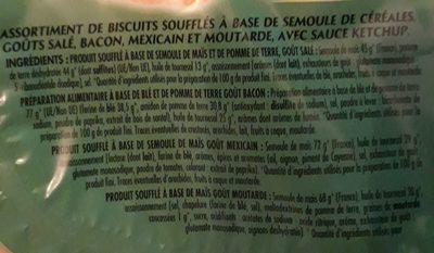 Cricfie's & sauce - Ingredients