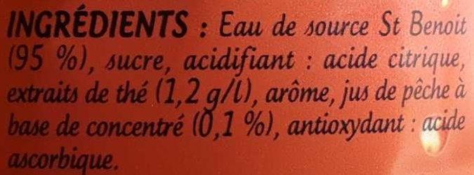 Look iced tea saveur pêche - Ingrédients - fr