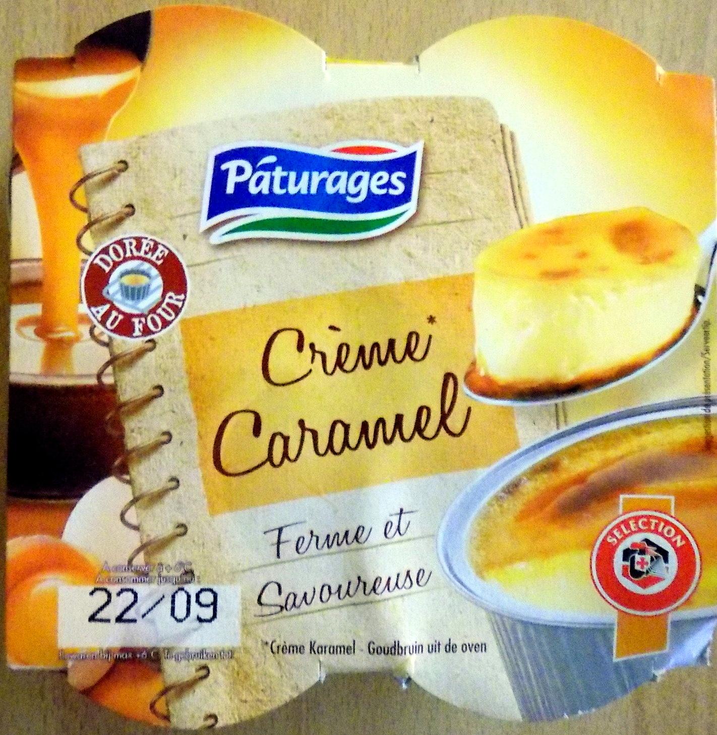 Creme caramel - Product