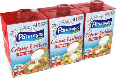 CRÈME ENTIÈRE FLUIDE 30% MAT. GR. - Product - fr
