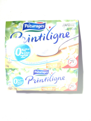 Yaourt maigre aromatisé saveur vanille - Produit