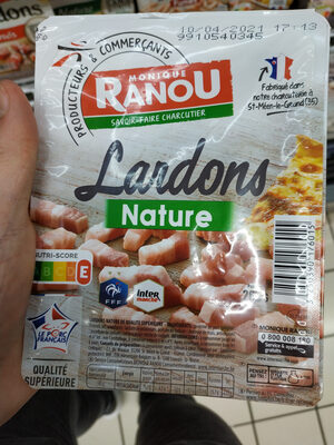 Lardons nature - Product - fr