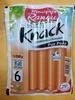 Knack  - Gourmand et croquant - pur porc - sachet spécial micro-ondes - Product