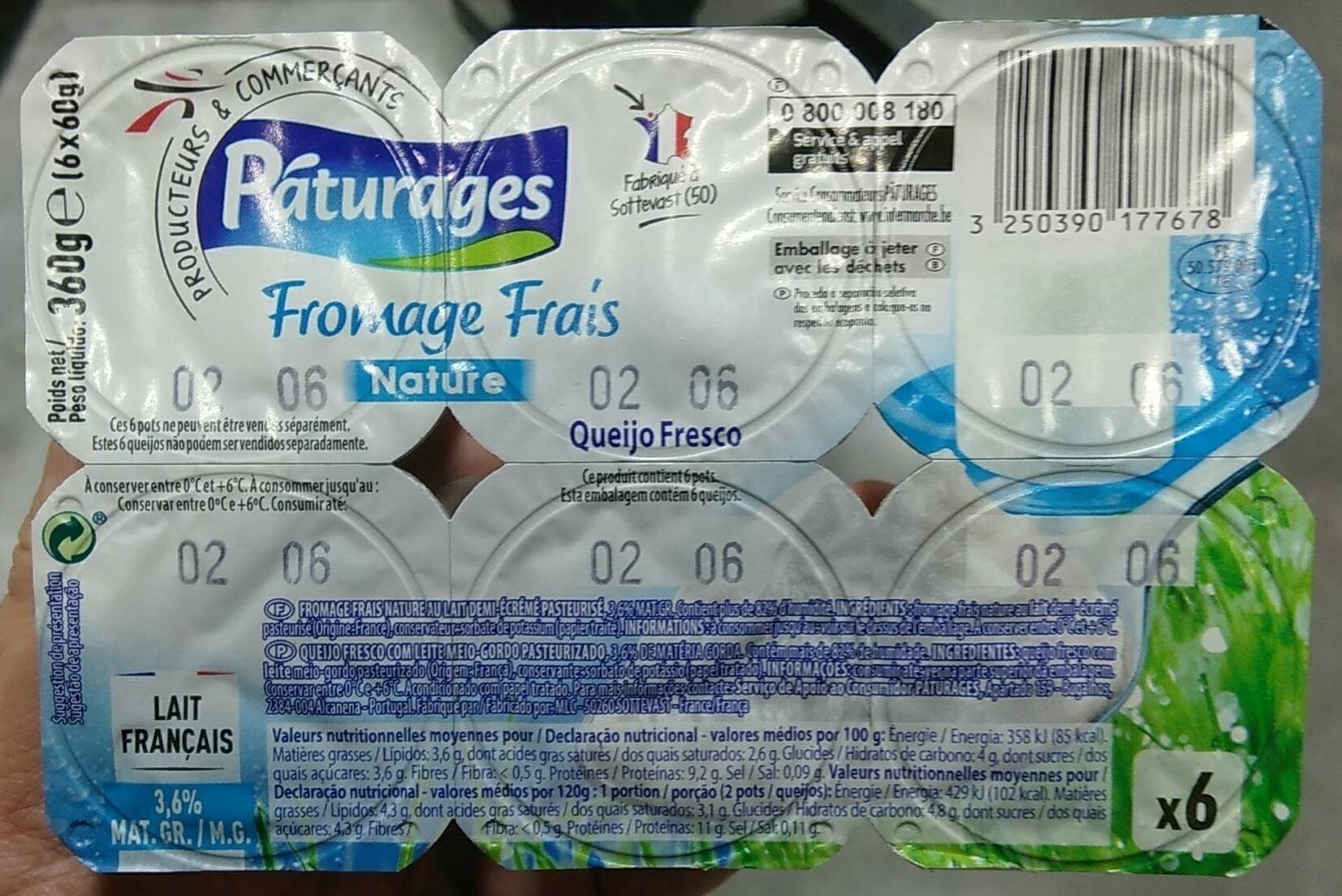 Fromages Frais - Product - fr