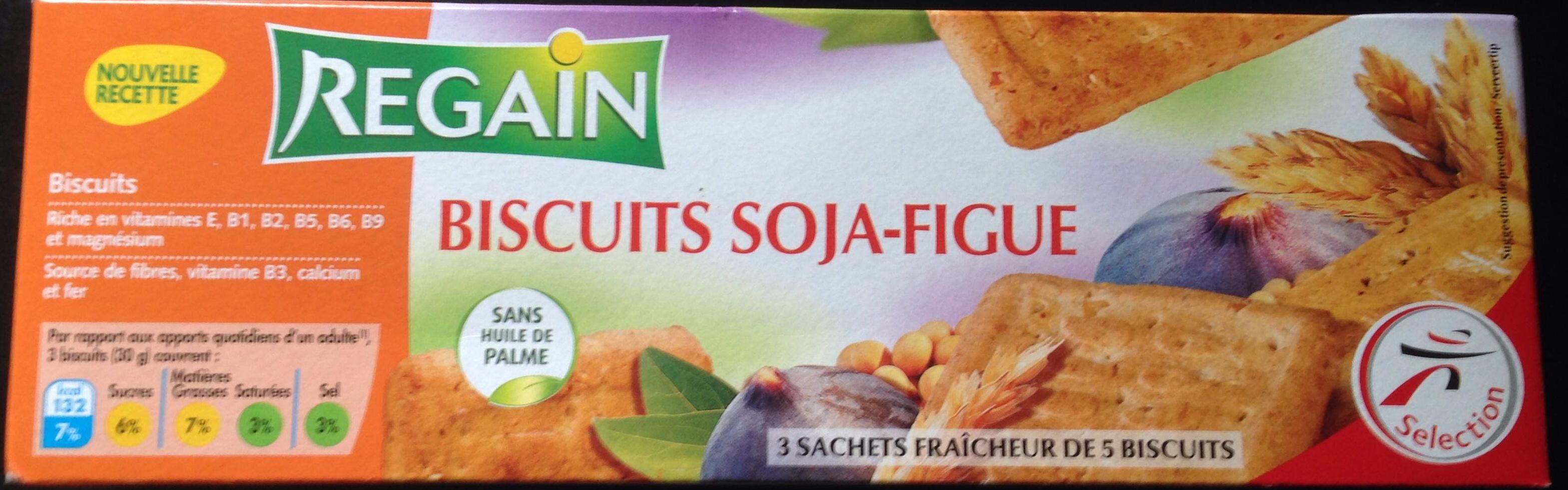 Biscuit soja figue - Product - fr