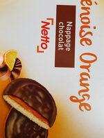 Génoises fourrées orange - Product