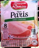 Mon Paris sans couenne - Product