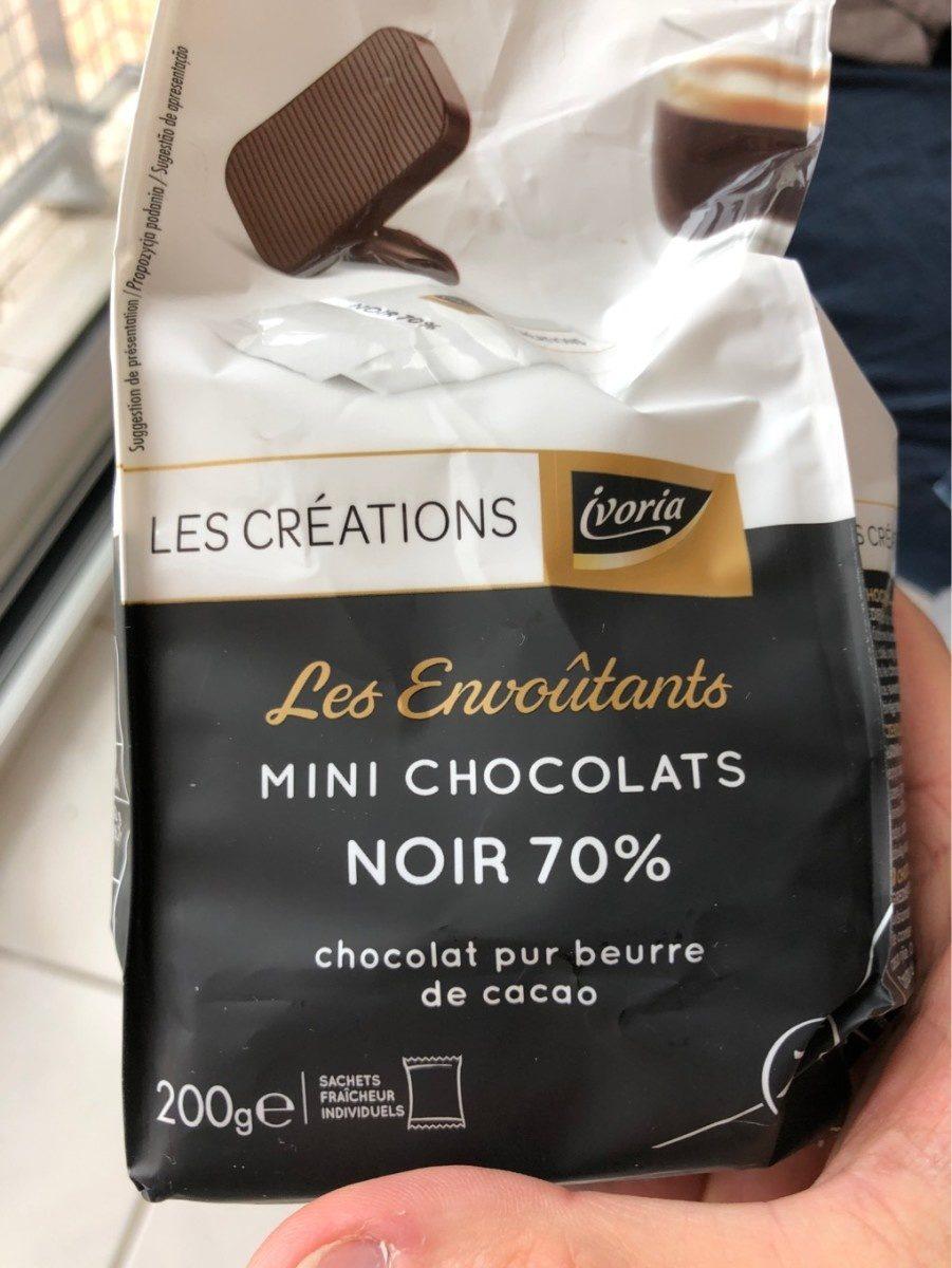 Les envoûtants mini chocolats noirs - Product