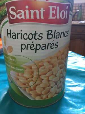 Haricots blancs préparés - Produit - fr