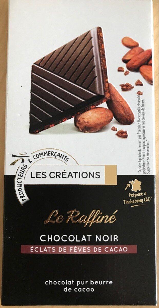 Dégustation Noir aux éclats de fèves de cacao - Product
