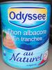 Thon albacore en tranches au naturel - Product