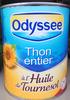 Thon entier à l'huile de tournesol - Product