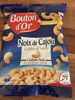 Noix de cajou grillées et salées - Product - fr