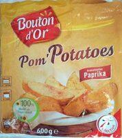 Pom'Potatoes paprika - Produit - fr