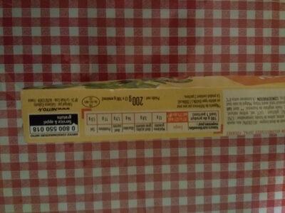 Croque Fromage de dinde - Informations nutritionnelles - fr