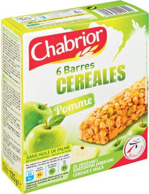 Barres de céréales pommes - Produkt - fr
